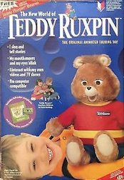 ALL ABOUT BEARS NEW 1998 YES ENT BOOK /& CASSETTE TAPE TEDDY RUXPIN